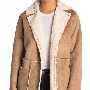 🎉Faux Shearling Sherpa Coat
